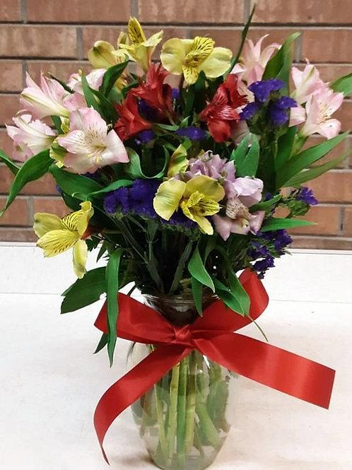 Alstromeria Vase (Peruvian Lilies)