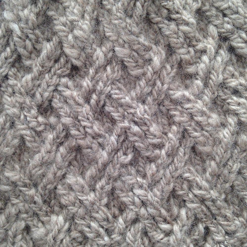 Close up pattern of Hat Amira
