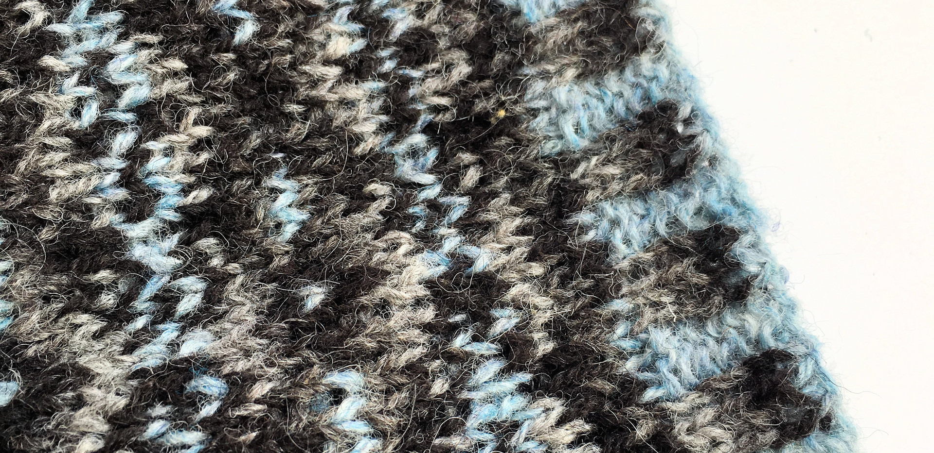 "Strickkit ""4 Seasons of Shetland"" WinterSea"