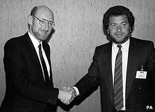 Clive Sinclair & Alan Sugar