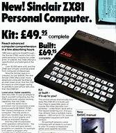 ZX81 advert