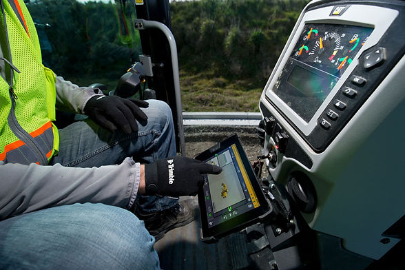 Image - Trimble Earthworks for Graders T