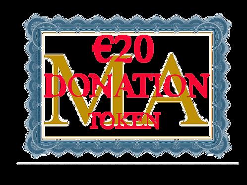 €20 Donation