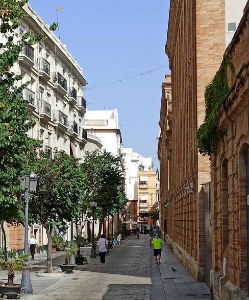 Calle Plocia, donde Cam y Bea van a cenar.