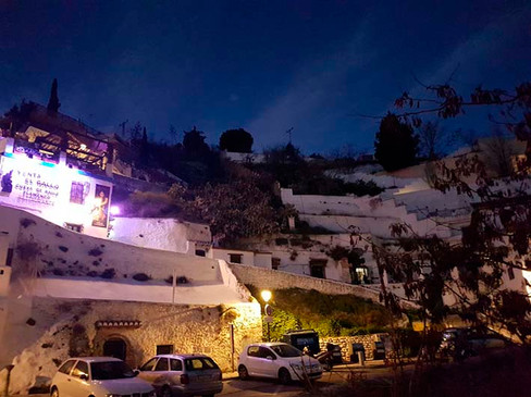 Barrio de El Albaicín, en Granada.