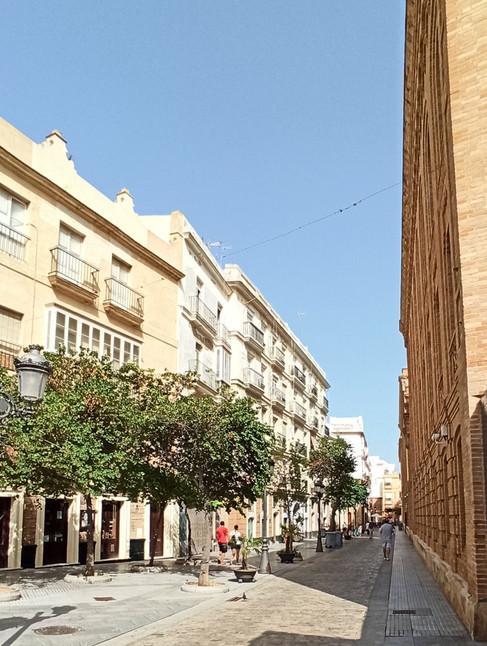Vista general de la calle Plocia