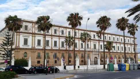 Edificio Valcárcel, emplazamiento ficticio de Hotel-Palacio Los Tulipanes