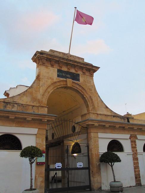 Entrada al Mercado de Abastos