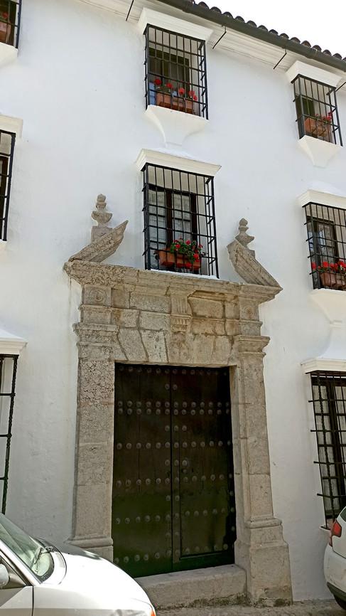 Ficticia casa de Javier en Grazalema