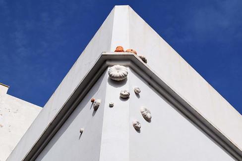 Impresiones de Rota - Calabazas en los muros