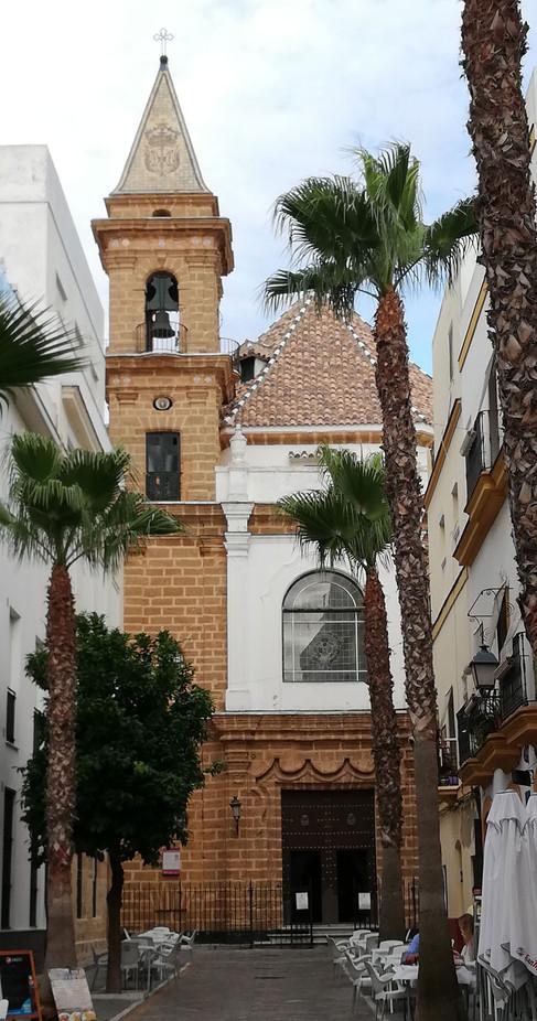 Fachada de la iglesia de la Palma