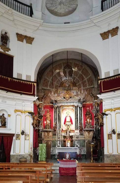 Altar iglesia de la Palma