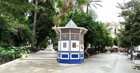 Kiosko plaza de Candelaria