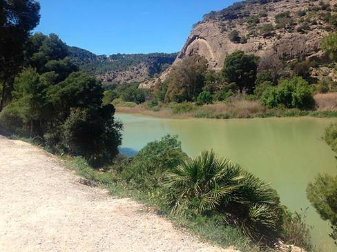 Río Guadalorce a su paso por Ardales