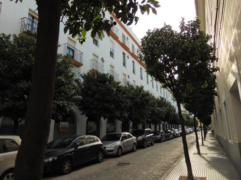 Calle Benito Pérez Galdón, donde vive Bea