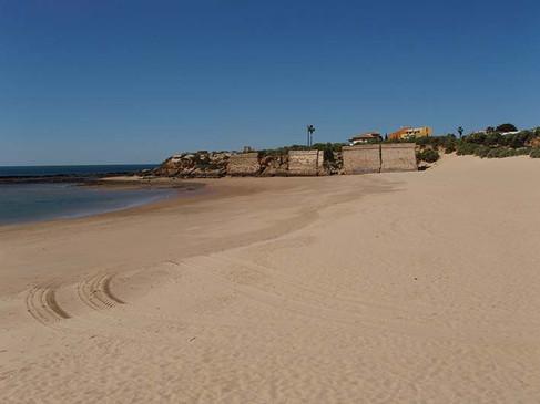 Playa de la Muralla de Puerto Sherry