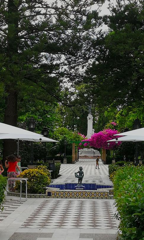 Paseo central Alameda Apodaca