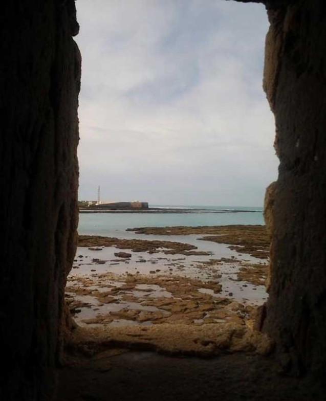 Vista del Faro de San Sebatián