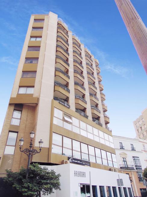 Edificio donde Mario tiene su estudio_