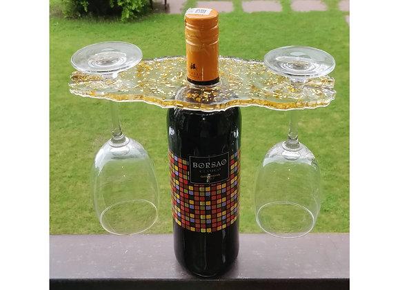 Vino and Glass Holder