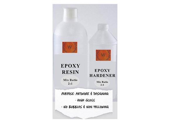 Epoxy Resin High Gloss (1.5kg)