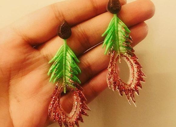 Spring Leaf Earings