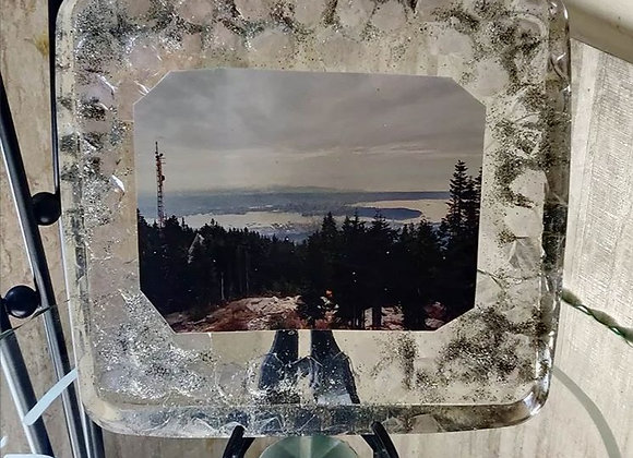 Customizable Crystal Frame