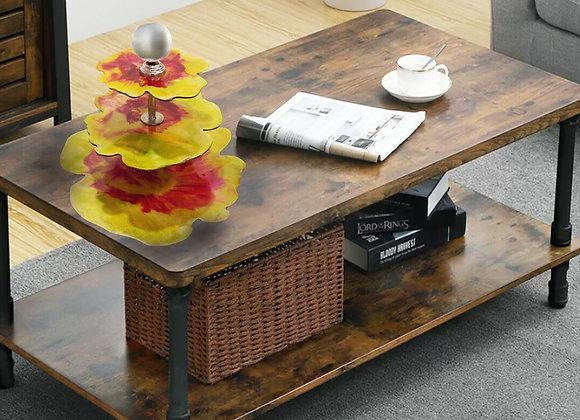 Multitier Floral Platter