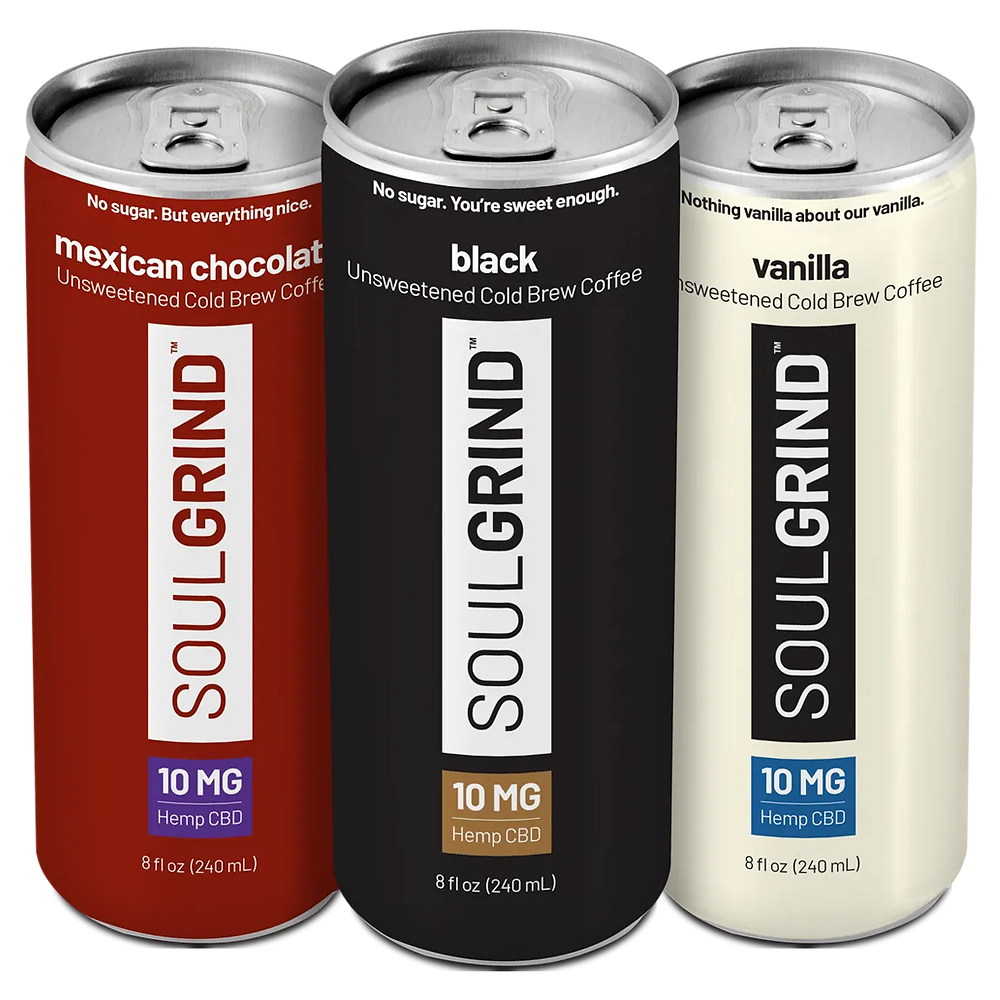 Soul Grind Flavors- Mexican Chocolate, Black, Vanilla
