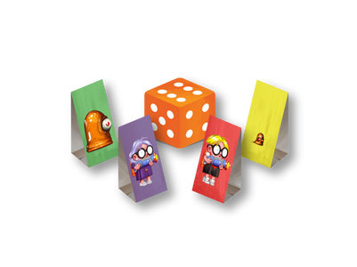 Mutant Mudds Deluxe Game Decks™ Player Pieces & Dice Preview