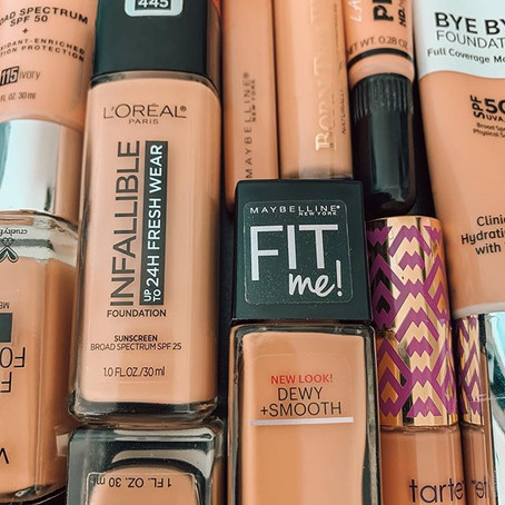 Reviewing 16 Foundations and Concealers