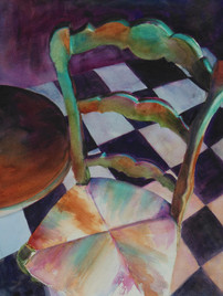 Chair with a Checkered Past