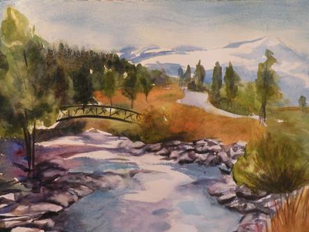 Bridge over Blue River