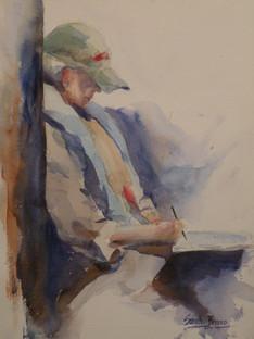 Artist in Taos