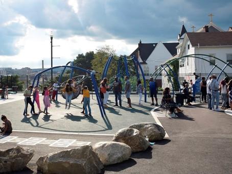 Newly-renovated Betty Price Playground