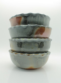 Wood fired bowls, 2019