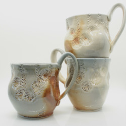Wood fired mugs, 2018