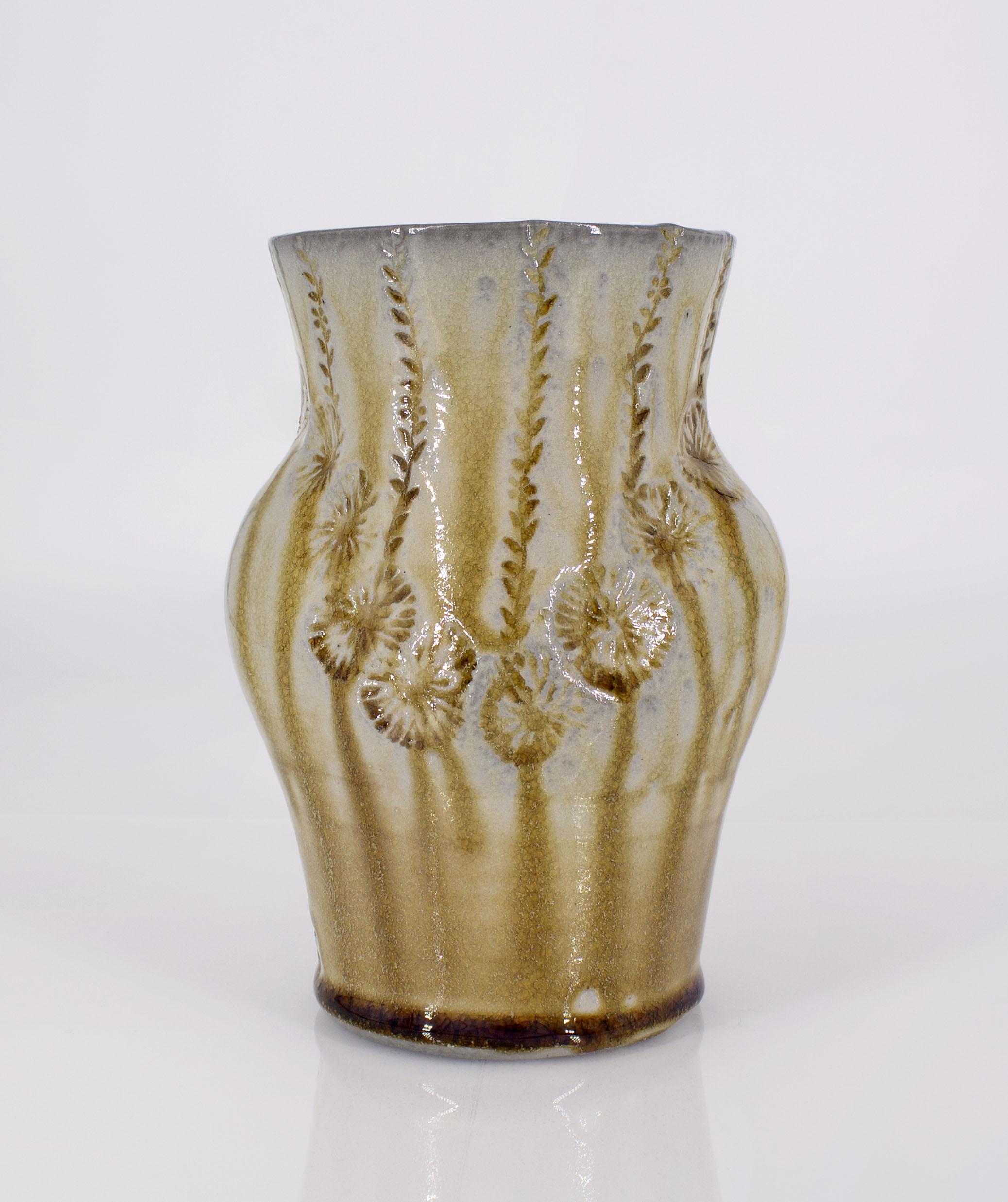 Soda fired vase, 2020