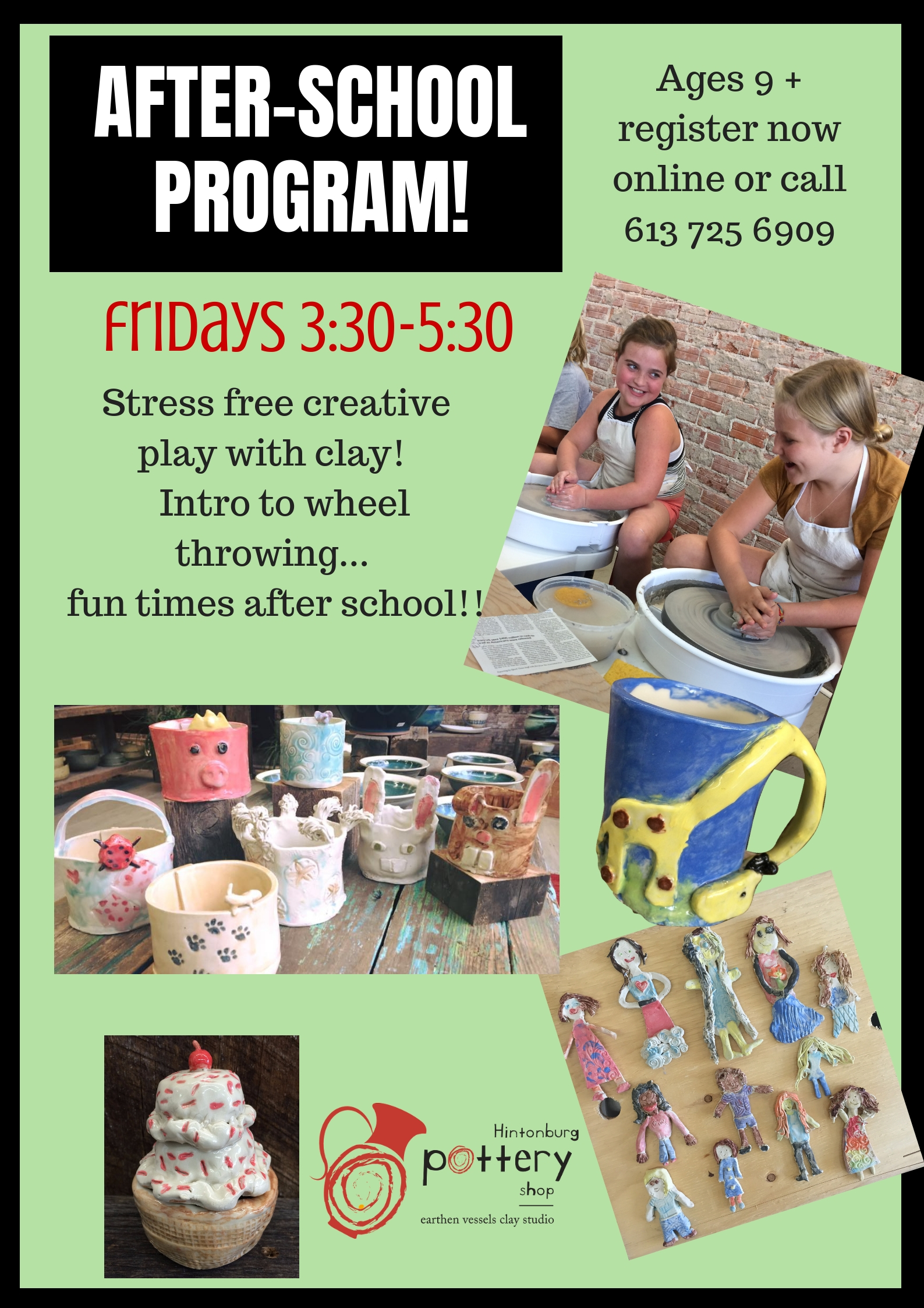 Pottery Classes | Ottawa | Hintonburg Pottery