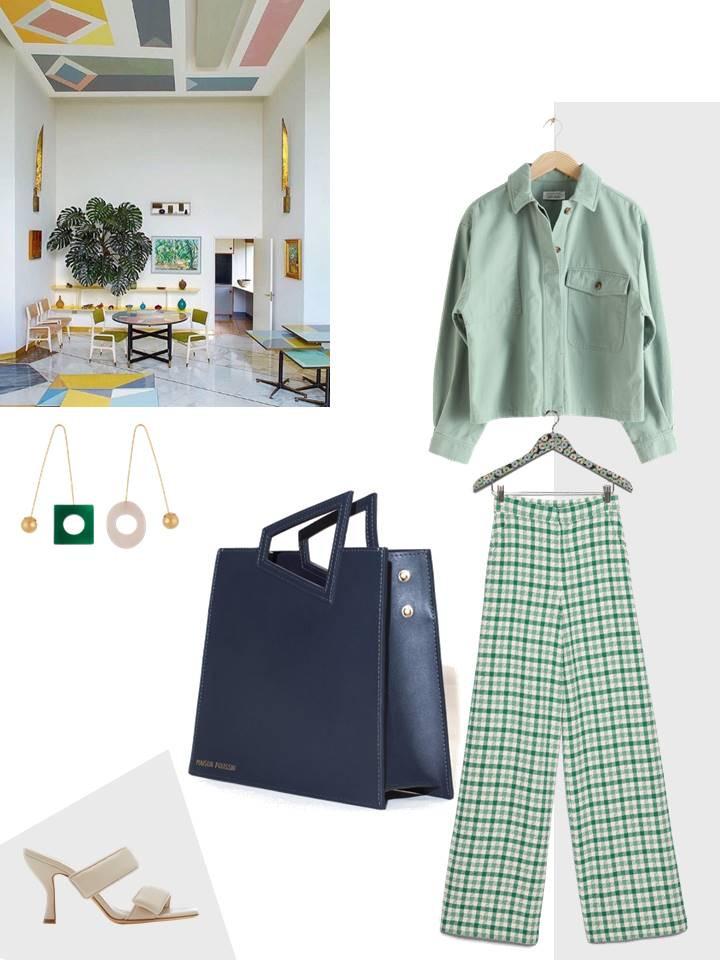 Monochrome Vert par Maison Poussin