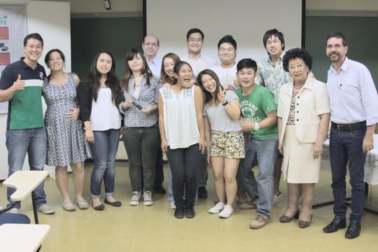 Intercambistas Japoneses apresentam Seminário
