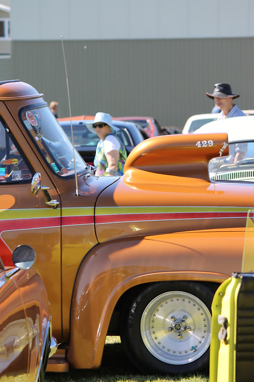 Day Entry to Car Show 10am – 6pm: