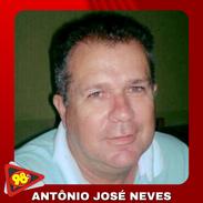 ANTÔNIO JOSÉ NEVES - LOCUTOR DO PROGRAMA 98 ESPORTES