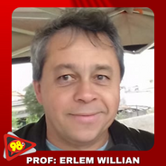 PROFESSOR ERLEM WILLIAN - LOCUTOR DO PROGRAMA 98 ESPORTES
