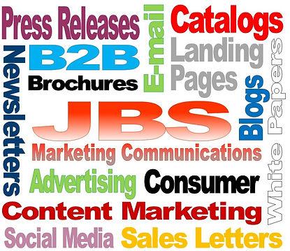 JBS Marketing Communications, Greensboro, NC, copywriting, content marketing, advertising, newsletters, pressreleases, email, catalogs, websites, advertising, social media, B2B, consumer