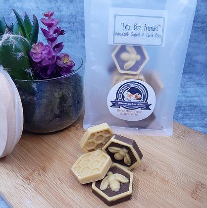 """Let's Bee Friends"" Honeycomb Yoghurt & Carob Bites150g"