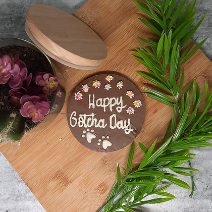 """""""Chocolate"""" cake toppers"""