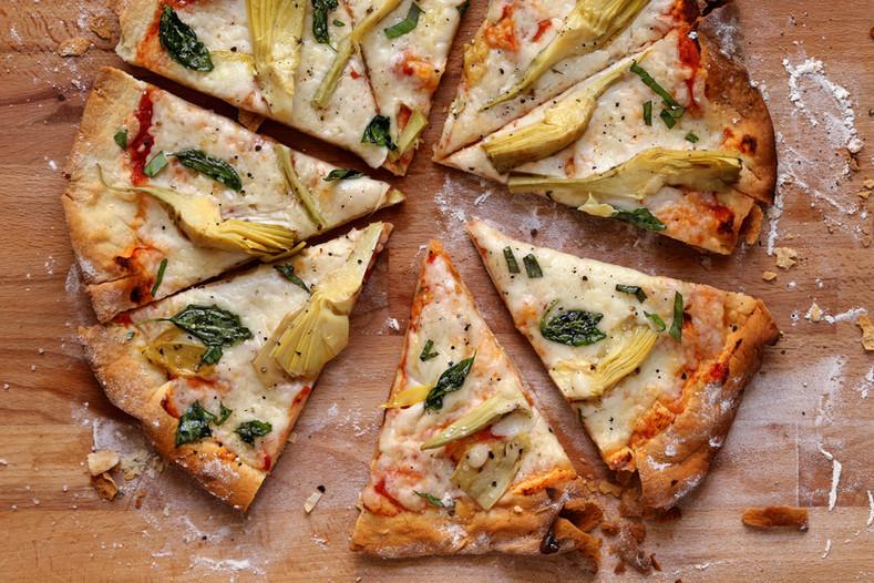 Grote Artisjok Pizza