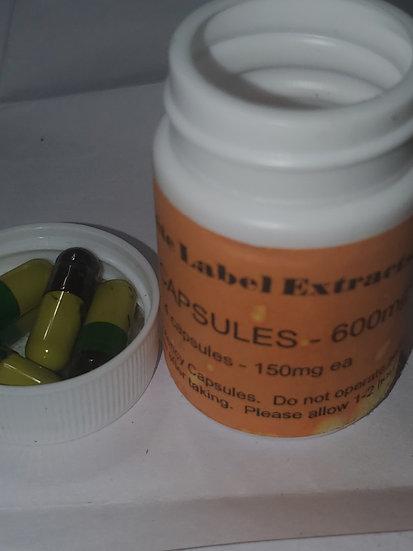 RSO capsules 600mg