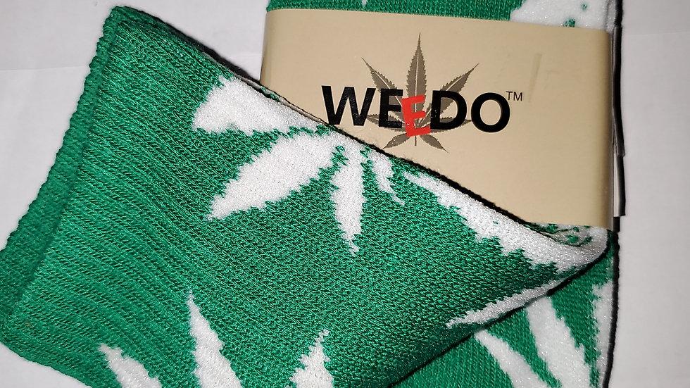Crew Weed socks 5 varieties